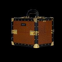 Kufer kosmetyczny o wzorze skóry strusia (KC-MS01S)